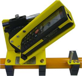 レーザ式建築限界離れ測定器センサー部