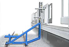 ホームドア建築限界測定器(走行式)