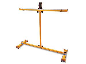 レーザー架線測定器